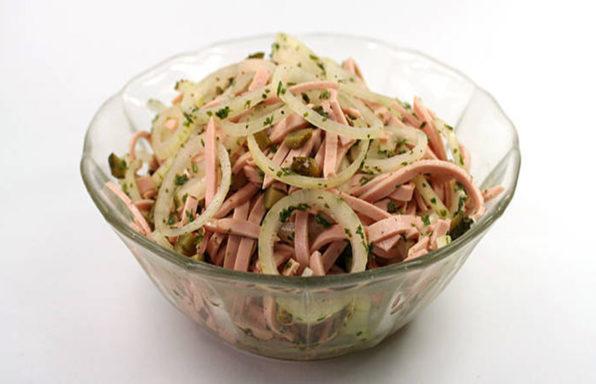 Bayerischer Wurstsalat: lecker und rasch gemacht