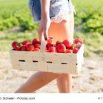 Bayerisches Dessert für die Erdbeersaison: Vanilleschmarrn mit marinierten Früchten
