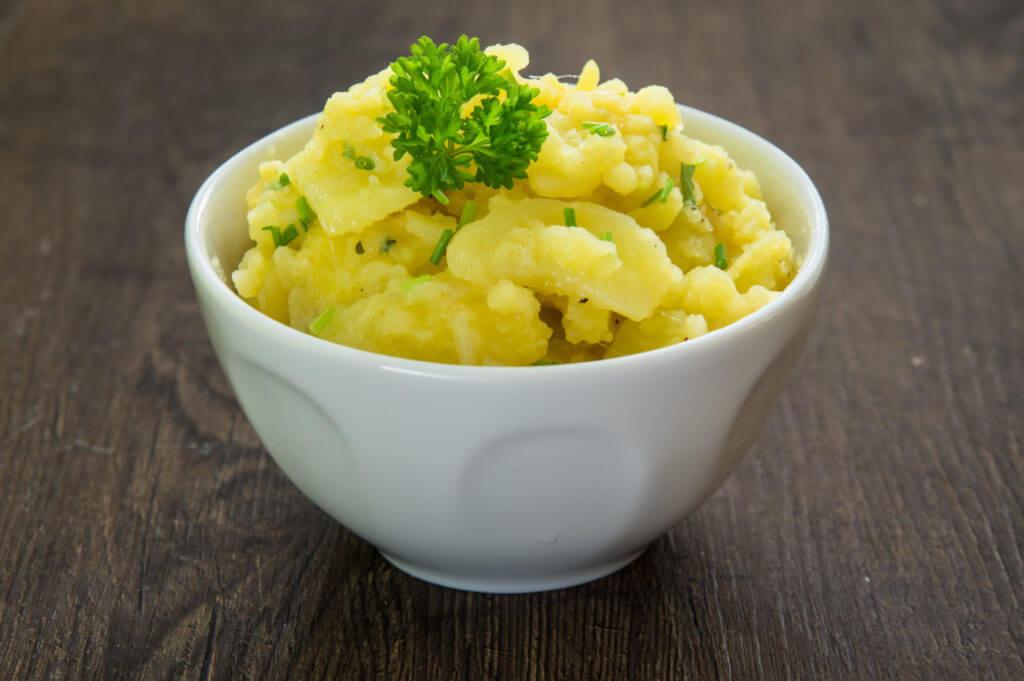 Leckere Beilage: bayerischer Kartoffelsalat