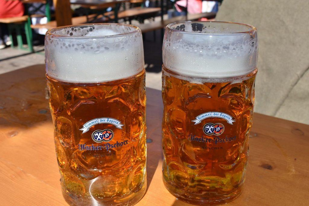 Biergärten in Bayern